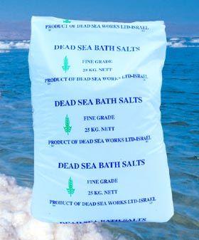 Totes Meer Badesalz - 5 kg, feinkörnig