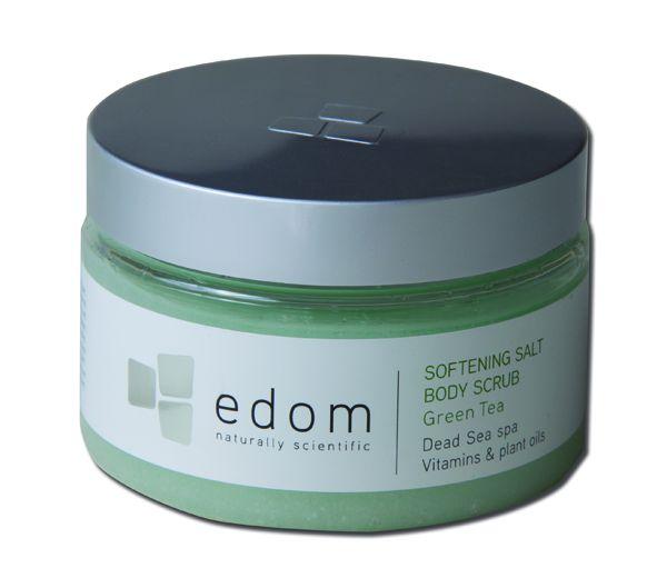 "edom Peeling- & Massage-Salz ""Grüner Tee"", 400 g - Dose"